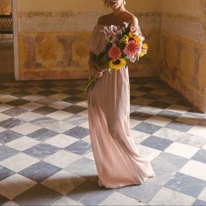 The Jetset Diaries Maxi in rose champagne